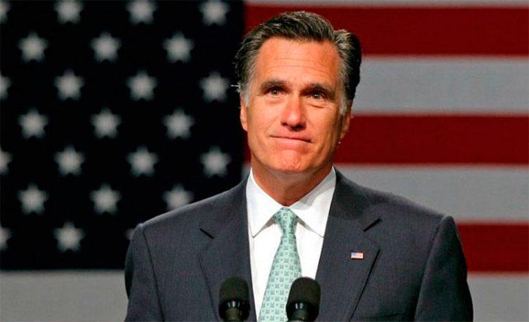 Ex candidato presidencial Mitt Romney anuncia postulación al Senado de EEUU