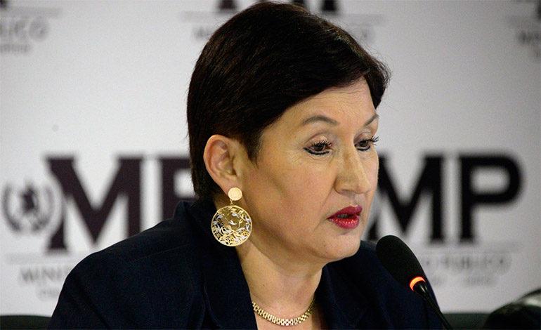 Orden de captura contra exfiscal de Guatemala, Thelma Aldana