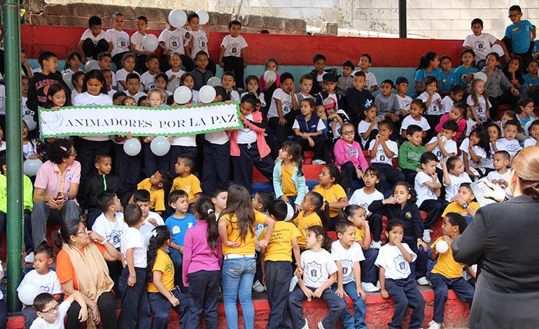 """Infantes claman por sus derechos en """"Semana por la Paz de la Niñez"""""""