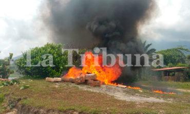 Incineran más de 300 paquetes de marihuana en La Ceiba