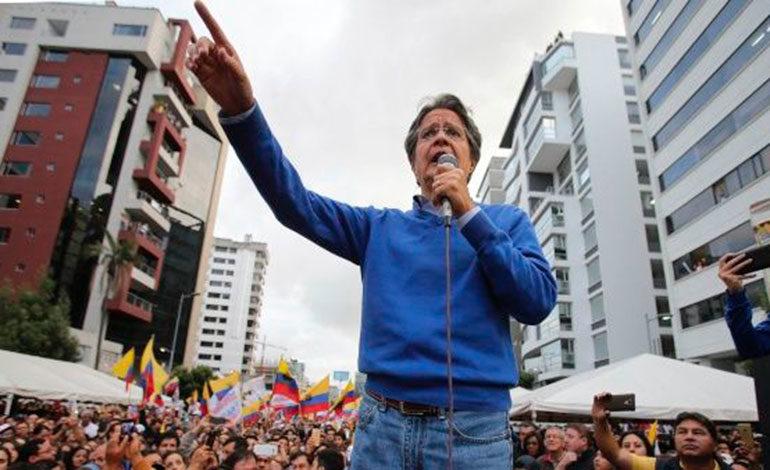 """El líder de oposición de Ecuador cree proceso en Venezuela es """"una farsa"""""""