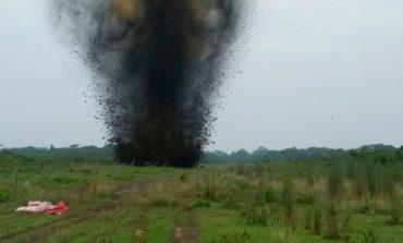 Destruyen dos pistas clandestinas usadas para narcotráfico