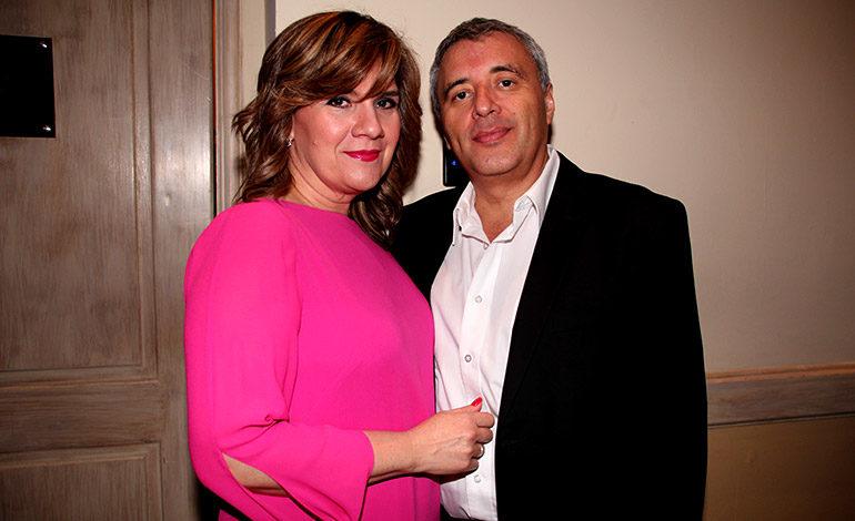 Yessica y Mario Alvarado.