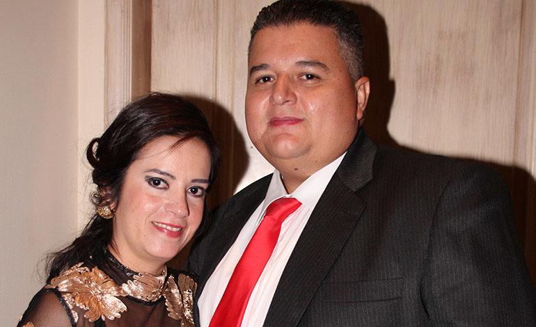 Ethel Arita y Cristian Martínez.
