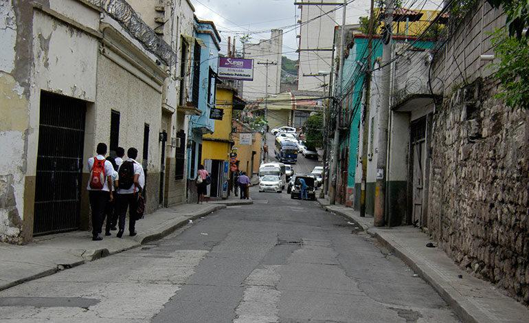 Próxima restauración será en principales avenidas del centro de Tegucigalpa