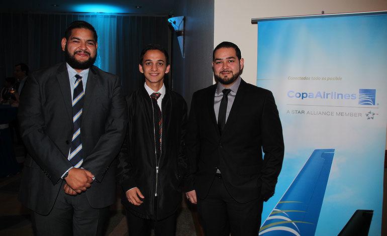Raslhid Giannini, Marco Salinas, Leonardo Fuentes.