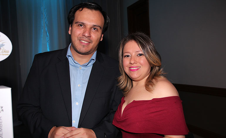 Víctor Moreno y Jeymi Martínez.