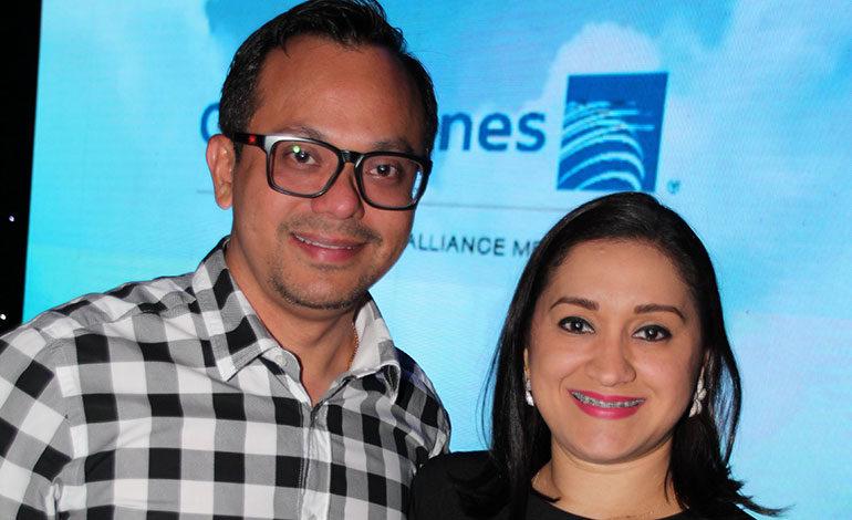 Melbin Peña y Jeime Handal.