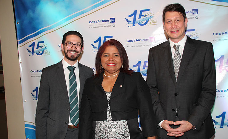 Copa Airlines celebra 15 años de volar en el país