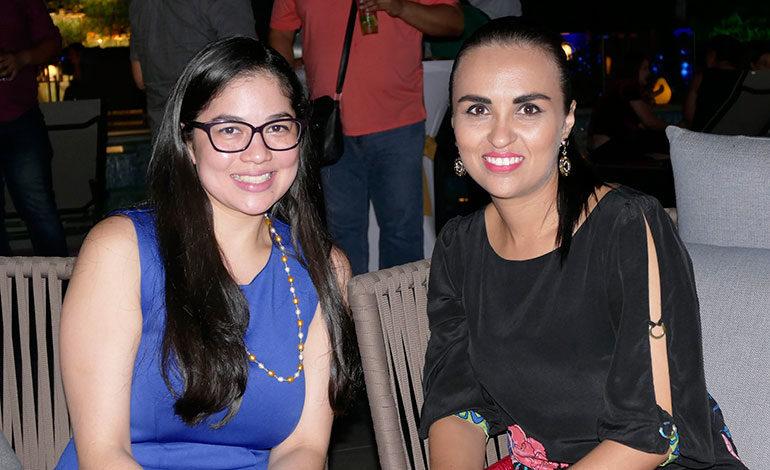Claudia Castro y Janin Ventura.