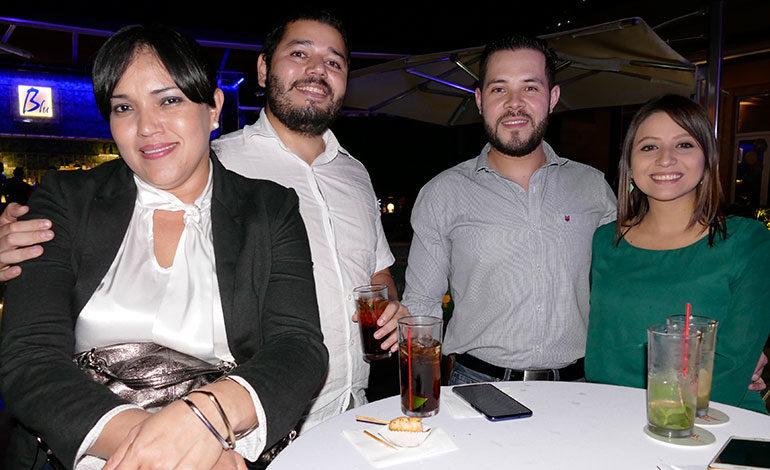 Dania Torres, Lev Madrid, Javier Soto y Sofía Morales.