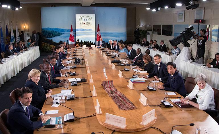 Europeos rechazan retorno de Rusia al G7