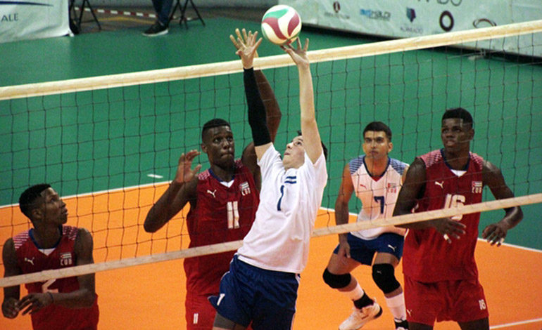Voleibol catracho debuta perdiendo en Norceca Sub-19