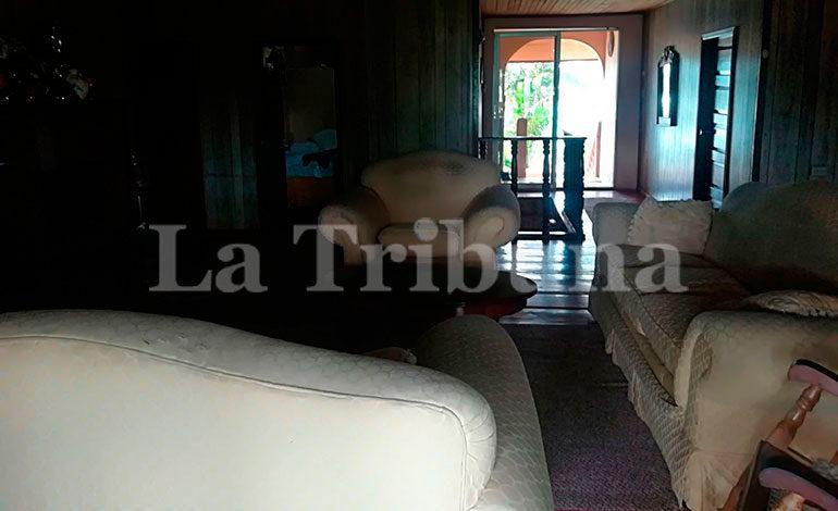 """El Hotel La Mosquitia también fue asegurado por la ATIC en el marco de la Operación """"Hefesto""""."""