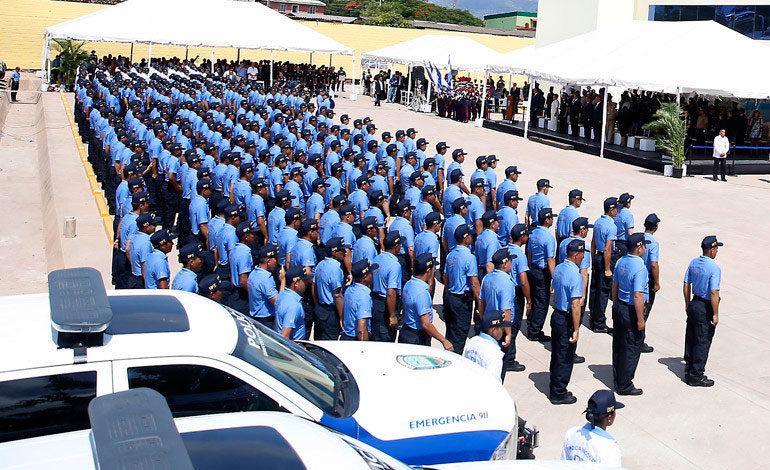 La reforma policial muestra a Honduras como ejemplo en seguridad ciudadana