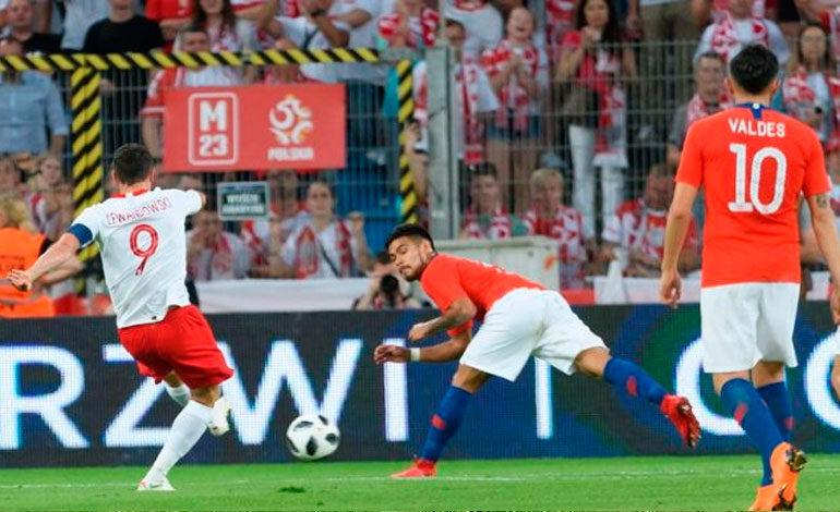 Polonia iguala con Chile en primer partido preparatorio antes de Mundial