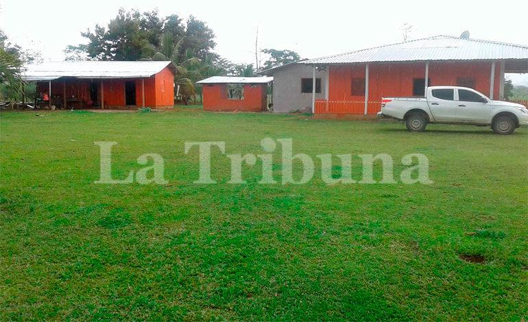"""El rancho """"Buenos Aires"""" en Iriona, Colón entró dentro del """"combo"""" de aseguramientos que ejecutó la ATIC."""
