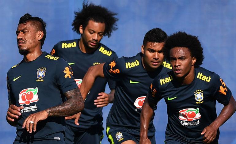 Brasil se entrena en Sochi con plan anti-espías