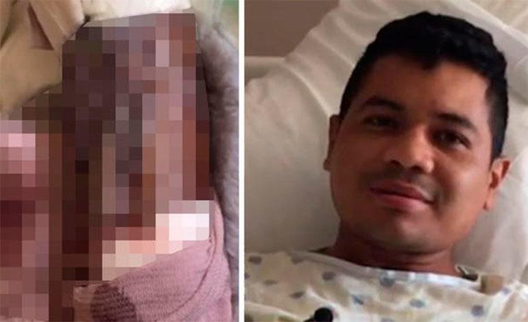 Inmigrante hondureño asegura fue torturado por cartel mexicano