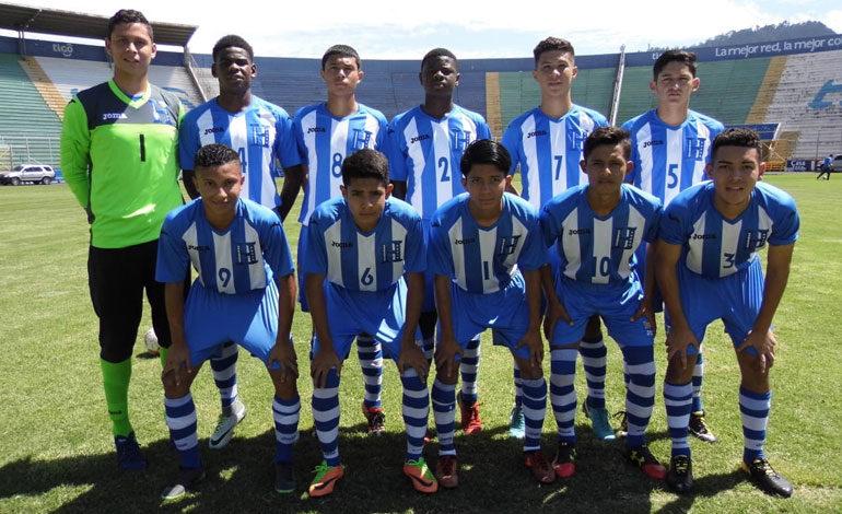 Sub-17 de Honduras no pudo con los Lobos