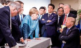 La foto viral de la cumbre del G7 provoca debate