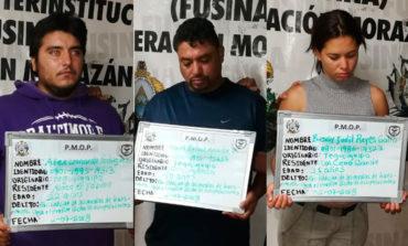 Detienen a tres personas con drogas en Tegucigalpa