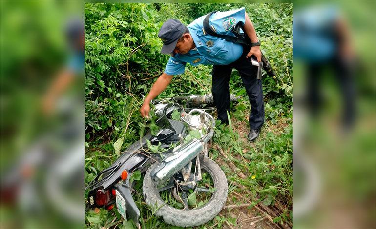 Muere mujer en accidente de motocicleta en Choluteca