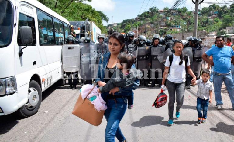 Transportistas suspenden la toma de calles en todo el país