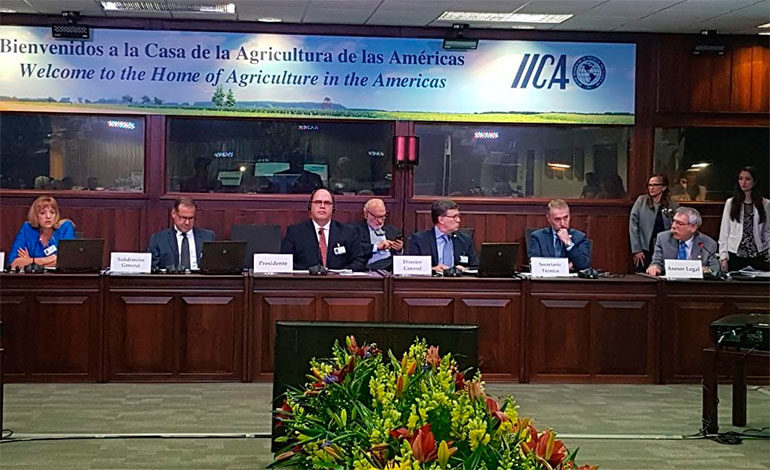 Con el respaldo del IICA potenciarán el agro en las Américas