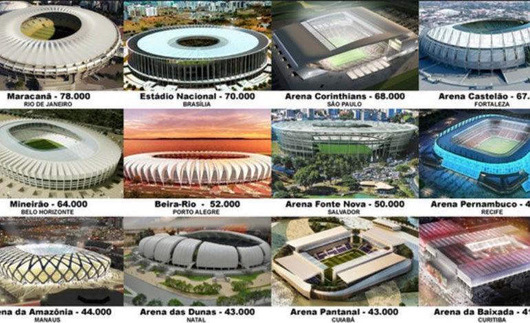 Doce estadios, la manada de elefantes blancos que dejó el Mundial-2014