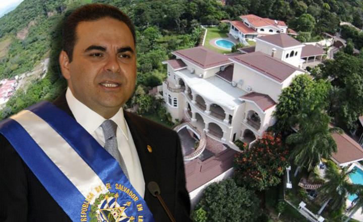 Fiscalía de El Salvador incauta bienes del expresidente Saca