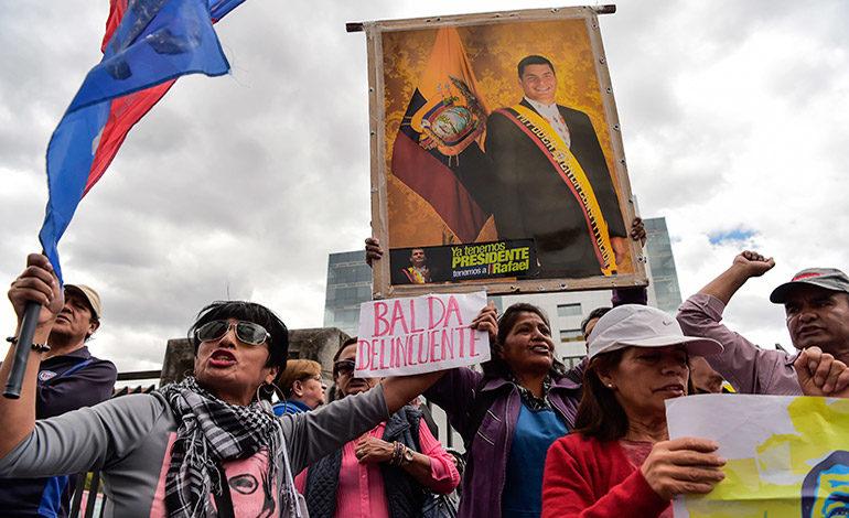 Expresidente Correa acusado