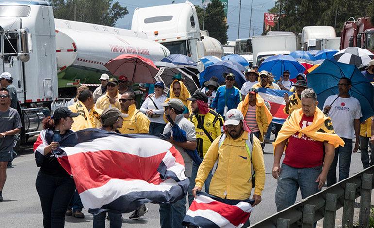 Diálogo sin acuerdos en Costa Rica