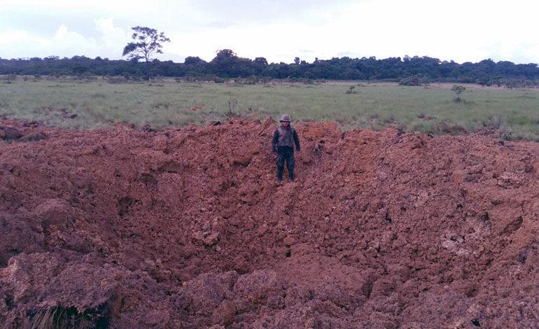 Fusina destruye pista clandestina para narcotráfico y suman 48