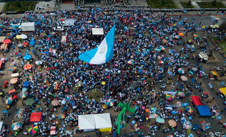 Campesinos en Guatemala fueron engañados para protestar contra la Cicig