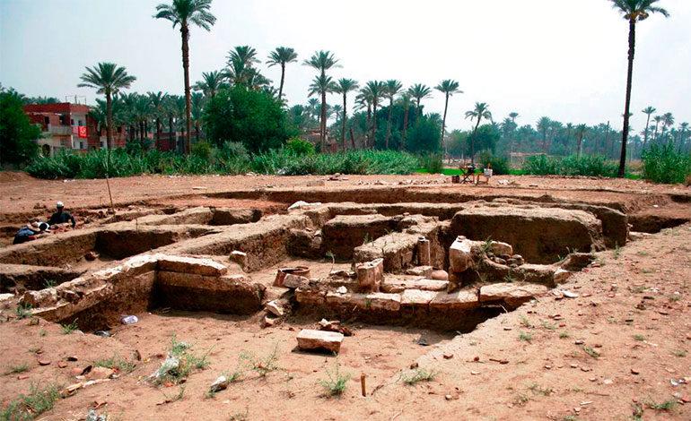 """Descubren """"enorme"""" edificio antiguo en Egipto"""
