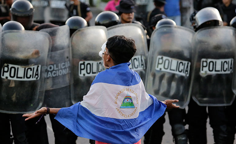 "Exiliados nicaragüenses crean coalición para ""librar"" a su país de Ortega"