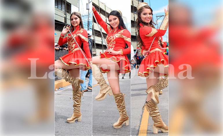 Ellas son las tres palillonas del Instituto Moderno que robaron más suspiros en los desfiles