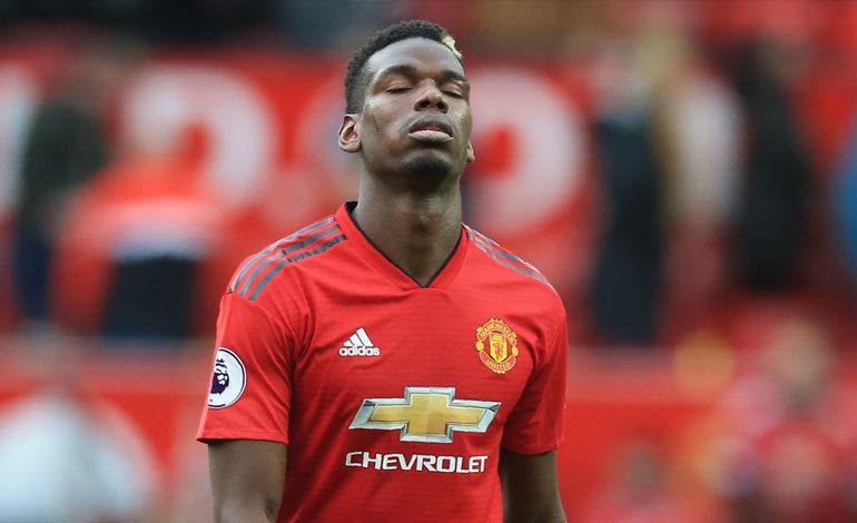 Pogba critica el juego del Manchester United