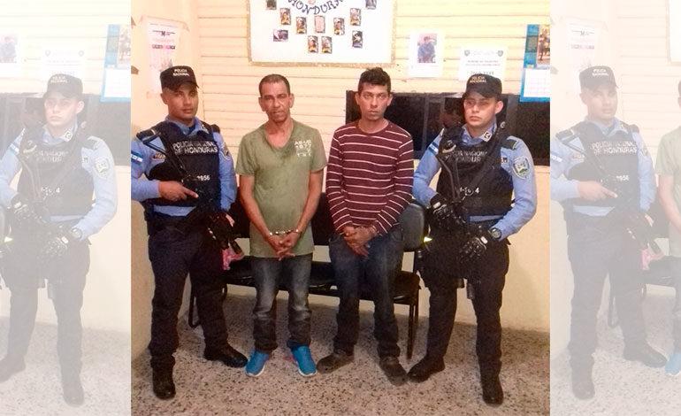 Capturan a dos prófugos de la justicia hondureña