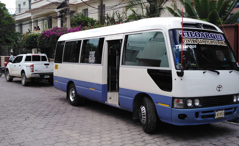 Un herido deja tiroteo a bus en Tegucigalpa