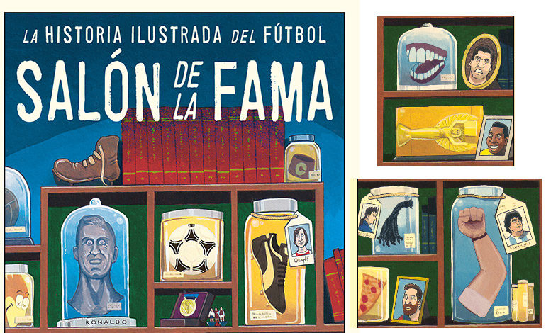 La historia dibujada del fútbol