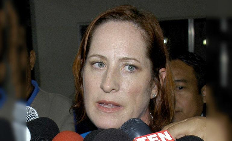 Heide Fulton impresionada de respuesta de Copeco a los damnificados