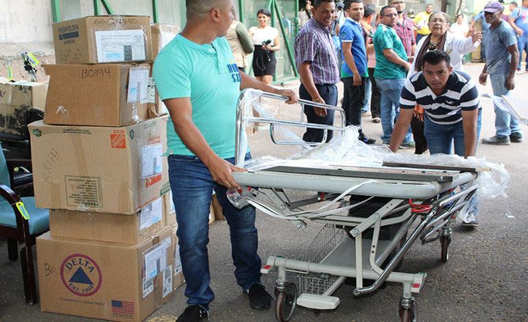 Hospital del Tórax recibe donación de equipo médico quirúrgico