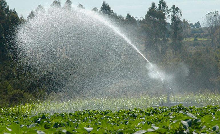 Avanza proyecto de irrigación en Sulaco