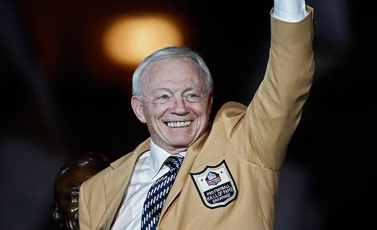 Imagen de archivo de Jerry Jones, dueño de los Dallas Cowboys. EFE/EPA/LARRY W. SMITH