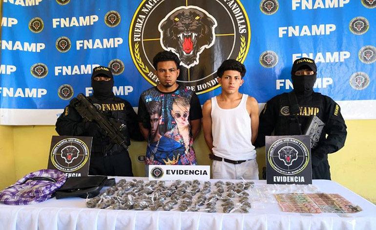 Capturan con drogas a dos miembros activos de la MS-13