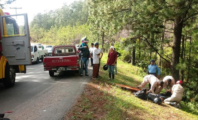 Muere motociclista que iba a balneario de Cantarranas, Francisco Morazán