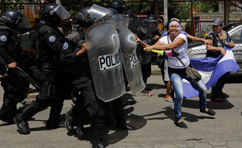 Universitarios advierten que seguirán protestando contra Ortega en Nicaragua