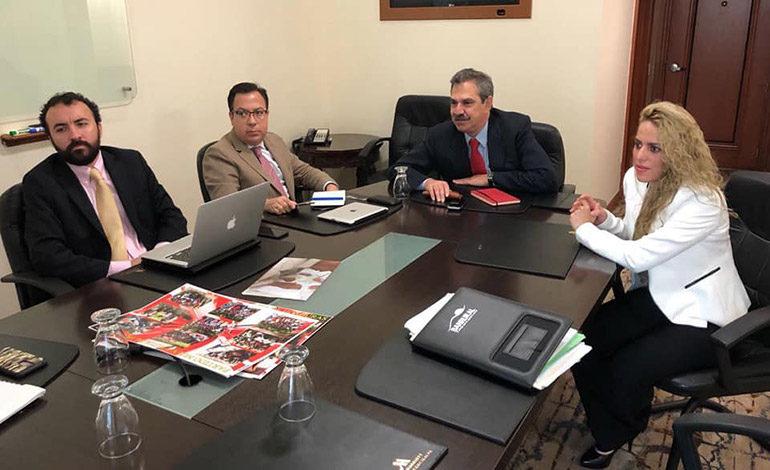 Nueva Ruta se reúne con la delegación de la OEA